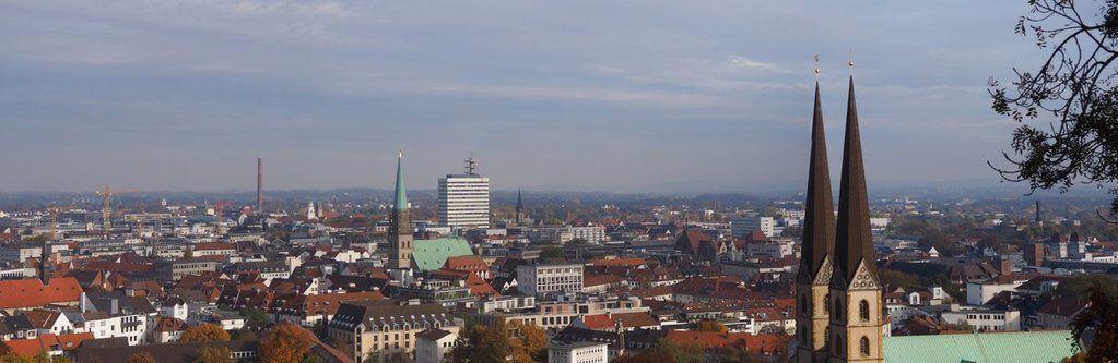Blick über die Dächer von Osnabrück