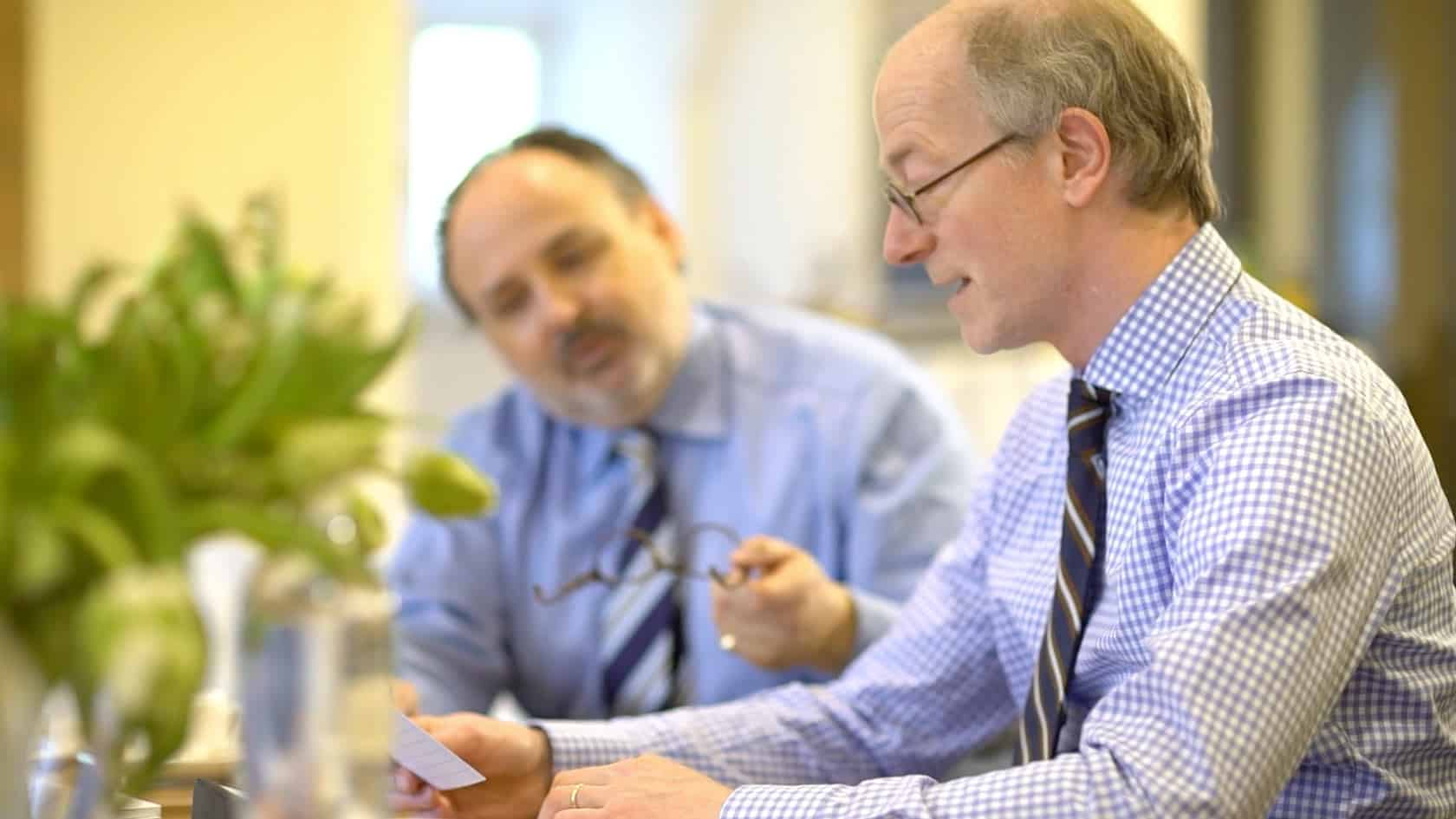 Sukcesja firmy w Krefeld: Rozmowa z Klausem Knuffmannem i Nilsem Koerberem