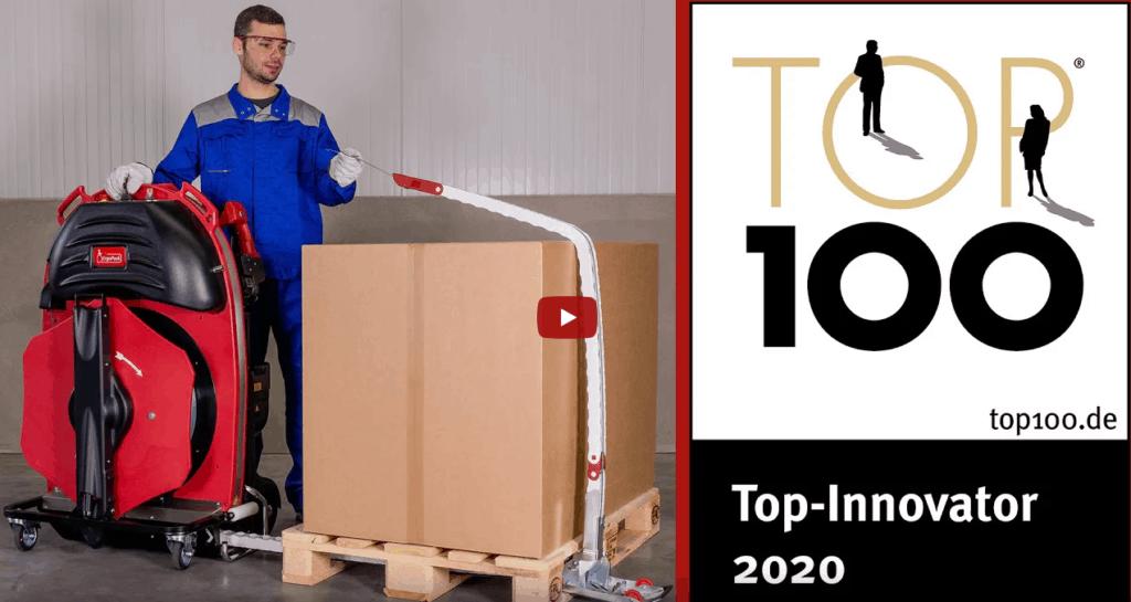 ErgoPack Deutschland GmbH als TOP-Innovator ausgezeichnet