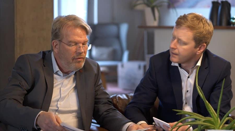 Specjaliści KERN dr Peter Slawek i Joern Greve w rozmowie